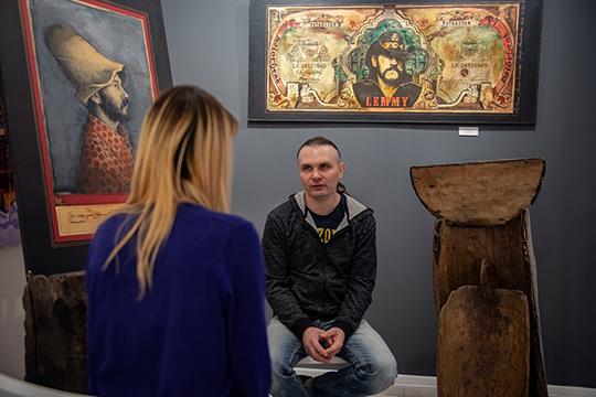 Ленар Ахметов: «Поп-арт — продукт массовой культуры, а татары — народ очень рациональный, даже татарская кухня больше приближена к фастфуду. Думаю, это направление не чуждо республике, просто самим татарам нужно это понять»