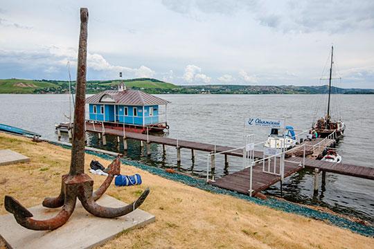 Из-за обмеления главной водной артерии Татарстана гости немогут добраться доважейших туристических объектов— Свияжска иБолгара
