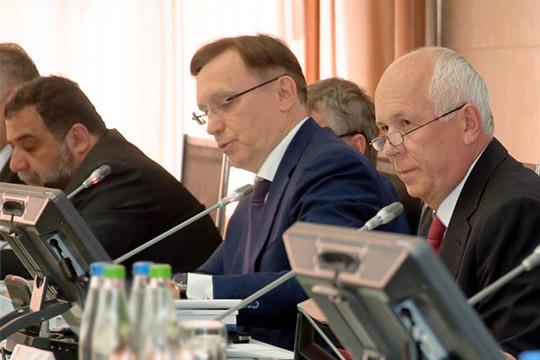 Рубен Варданян,Сергей Когогин иСергей Чемезов