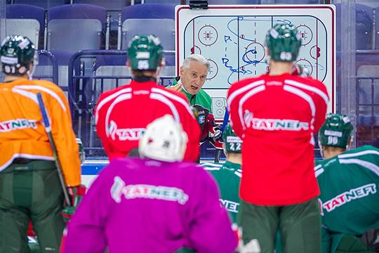 «Билялетдинов— один извеличайших тренеров завсю историю хоккея, ионможет продолжать приносить результаты»
