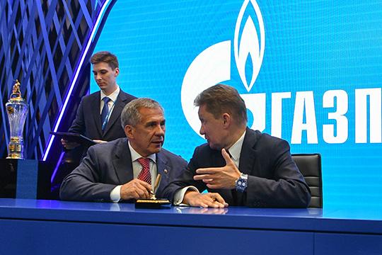 Одним изключевых соглашений Каримов назвал договор с«Газпромом» остроительстве завода сжиженного природного газа исети газозаправочных станций вЧистополе