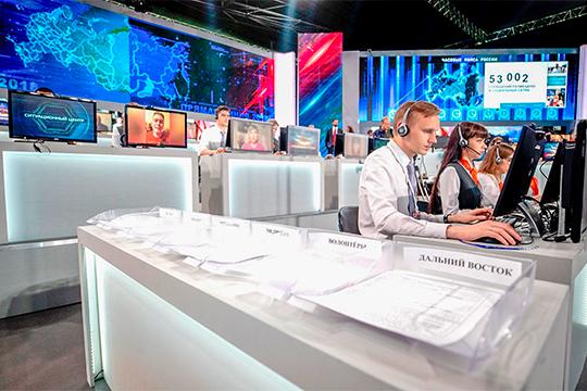 За двое суток до начала прямой линии с президентом России Владимиром Путиным уже более 800 тысяч обращений, сообщает телеканал «Россия 24» со ссылкой на данные колл-центров