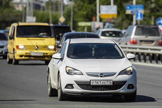 Горячо любимый казанцами Opel Astra приходится 565 из876 зарегистрированных авто, сменивших хозяев