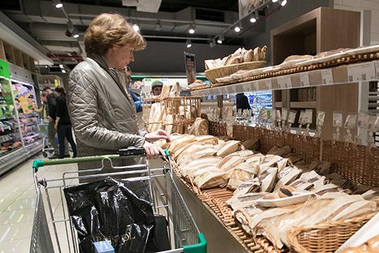 ВНижнекамске хлебокомбинат занимает лидирующие позиции, охватывая 60% рынка. Науровне Татарстана, если верить статистике союза хлебопроизводителей, его доля— 5%