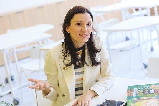 Основательница первой вТатарстане сети международных полилингвальных детских садов иКембриджской школы «Бала-Сити» Альбина Насырова