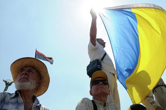 Елена Пономарева: «Как государства Украины уже давнонет. Есть название, табличка вООН»