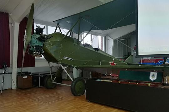 ПО-2 в музее трудовой славы КВЗ