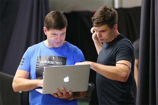 Павел Зубов (слева) и Игорь Ожиганов