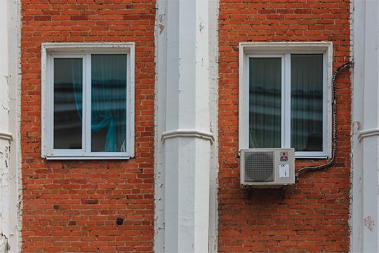 Предписание о демонтаже кондиционеров выдано собственникам здания на ул. Маяковского. 20, ул. Московская, 42
