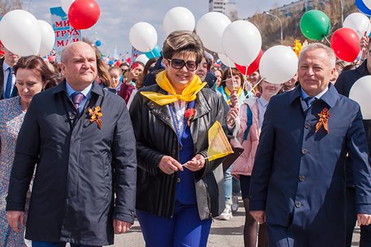 Мунир Гайнуллов (слева), казалось бы, ослаб на фоне сдачи мандата депутата Госсовета РТ и ухода в отставку давнего партнера — бывшего главы ГЖФ Талгата Абдуллина. Но не тут-то было