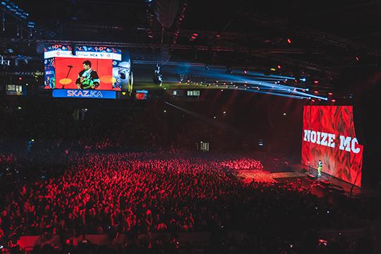 В минувшую субботу глава АИР РТ Талия Минуллина дебютировала в качестве организатора большого музыкального феста