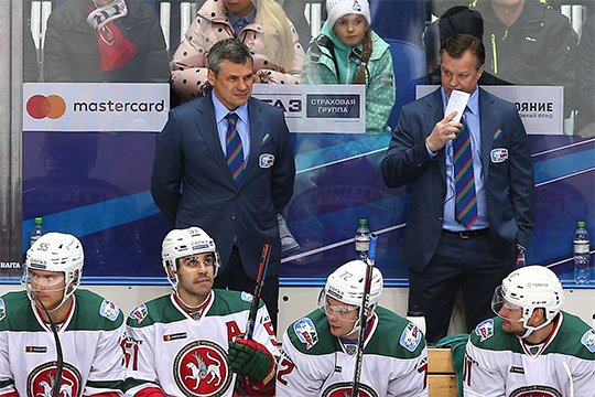 Для Квартальнова это была не простая играя — тренер напомнил руководителям ярославского клуба, что с ним поступили некрасиво.