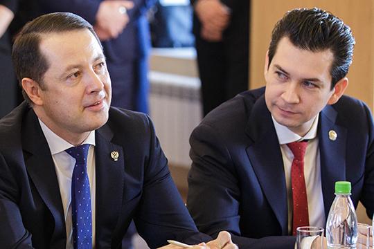 Большая часть рассмотренных заказов была размещена во времена предшественников Шадрикова — Артема Сидорова (слева) и Фарида Абдулганиева (справа)