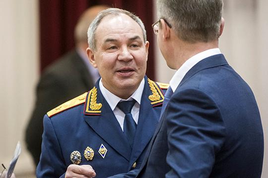 И. о. следственного комитета России по РТ Марат Зарипов благополучно вернулся на работу после сентябрьского скандала