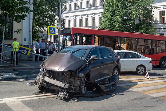 «Анализ показывает, что основная причина ДТП — столкновение автомобилей. Это 45 процентов от общего количества или 1684 ДТП за 10 месяцев текущего года»