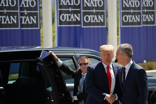 «Лично Трамп, возможно, НАТО с удовольствием бы и похерил, но ему этого сделать не дадут, поскольку это объективно важный инструмент американского влияния»