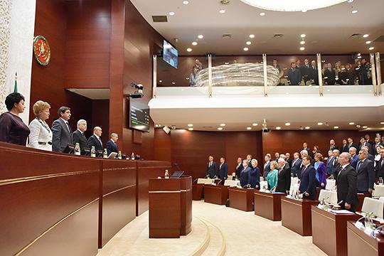 На повестке дня последнего заседания 2019 года Государственного Совета республики стояло около 40 вопросов
