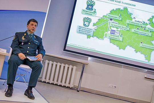 Генерал-майор таможенной службы Альберт Мавликов назначен в порядке перевода на должность начальника Северо-Кавказского таможенного управления