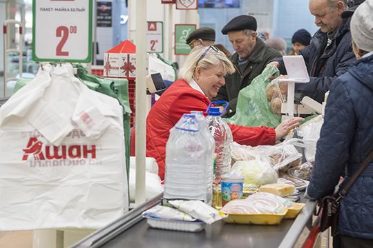 Если добавить к российским миллиардерам «Ашан», «Метро» и «ИКЕА», то становится понятно, что на фоне таких тяжеловесов и с учетом спада покупательской активности, региональным сетям остается искать узкие ниши
