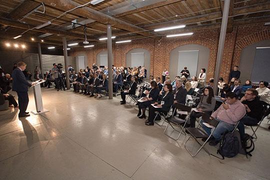 В ходе второй пленарной сессии кандидат культурологии Энже Дусаева рассказала о разработанной ментальной карте города