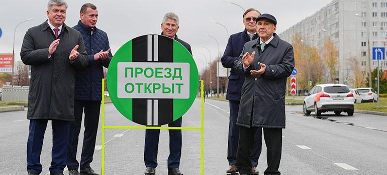 Массированное дорожное строительство вЧелнах иНижнекамске