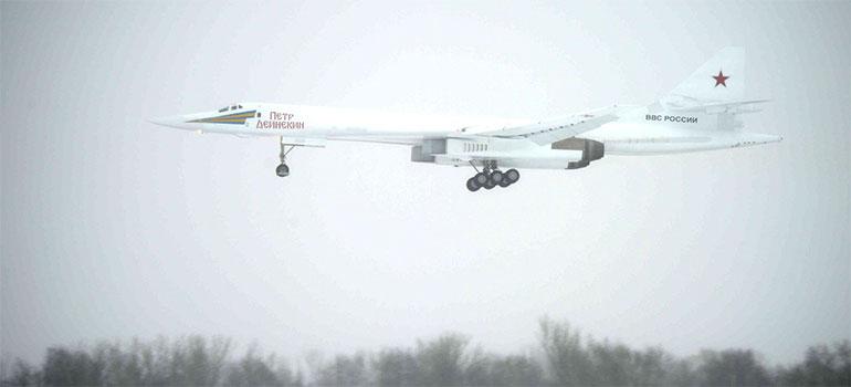 Взлет Ту-160 изсоветских заделов