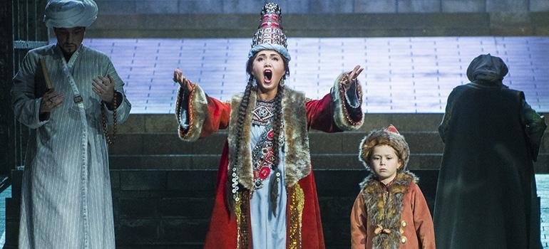 Премьера оперы «Сююмбике»