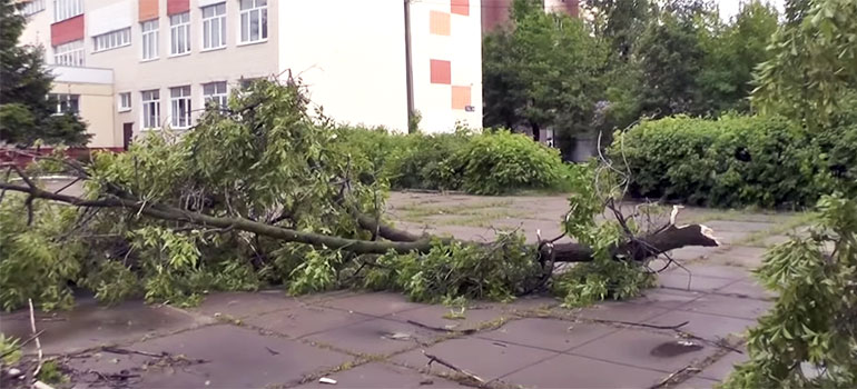 Ураган вКазани