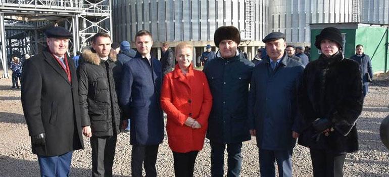 «Агросила» открыла элеватор за1,5млрд. рублей