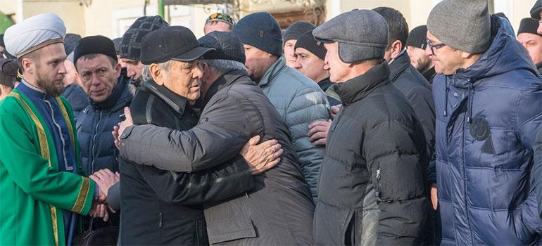 Прощание ссупругой первого президента РТСакиной Шаймиевой