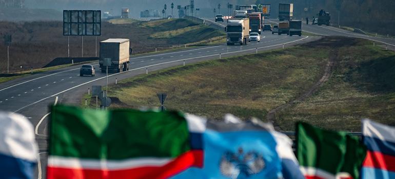Дан старт созданию автобана «Москва— Казань»
