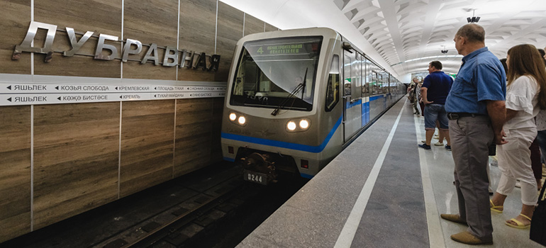 Открытие новой станции Казанского метрополитена— «Дубравная»