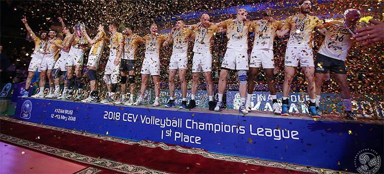 «Зенит-Казань» выиграл Европейскую Лигу чемпионов