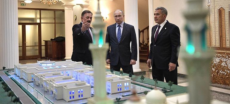 Визит Владимира Путина вКазань