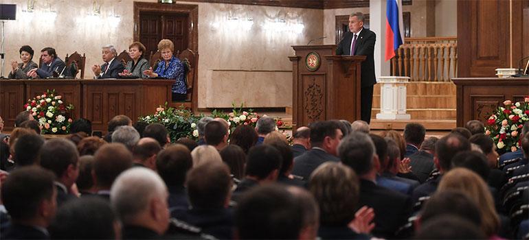 Рустам Минниханов поручил написать стратегию татарского народа