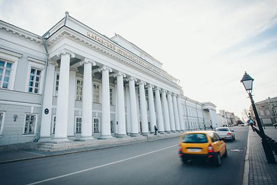 Оперативники экономического управления МВД поРТпровели масштабную выемку встенах старейшего вуза Казани