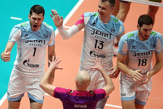 «Казанская пушка» сокрушила Питер: команда Алекно сохранила Суперкубок