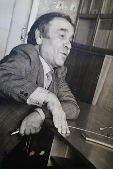 Марсель Зарипов - собкор газеты«Советская Россия»по ТАССР