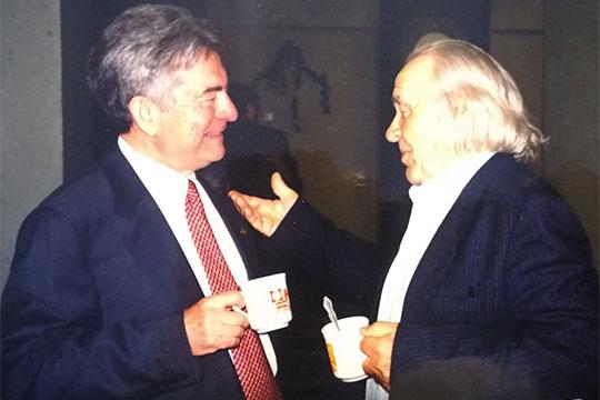 С гендиректором«Татнефти»Ринатом Галеевым 2001 год