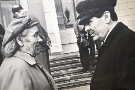 С первым президентом РТ Минтимером Шаймиевым