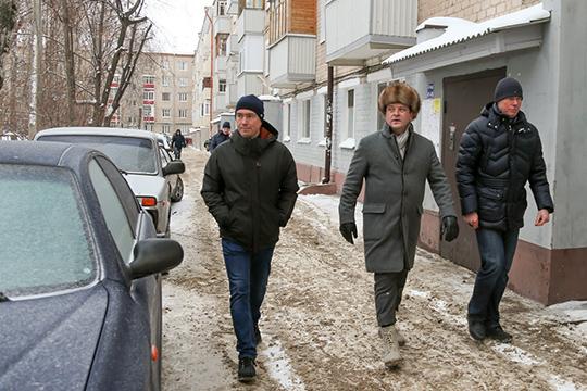 Денис Калинкин: «Неубирают машины – значит, всем придется ходить посугробам»