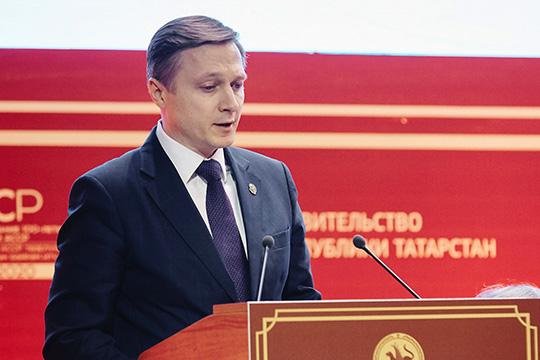 По словам Альберта Каримова, индекс промышленного производства РТ поитогам 2018 года составил 102% или 2,8трлн рублей, что вцелом считается неплохим результатом