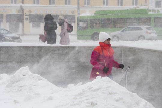 «Полярное вторжение втыловой части циклона»: вТатарстане первый вгоду разгул стихии