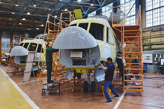 «В этом году изготовят 38 Ми-8»