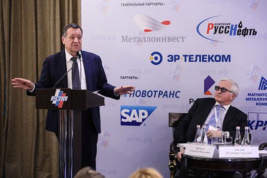 Андрей Макаров бодро утверждал, что налоговые вопросы для бизнеса постепенно отступают «на более дальний план»