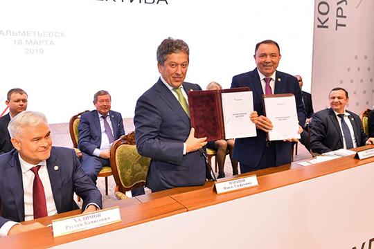 Касаясь реализации социальных программ «Татнефти»,гендиректор отметил, что впрошлом году наихвыполнение было направлено более 7млрд рублей