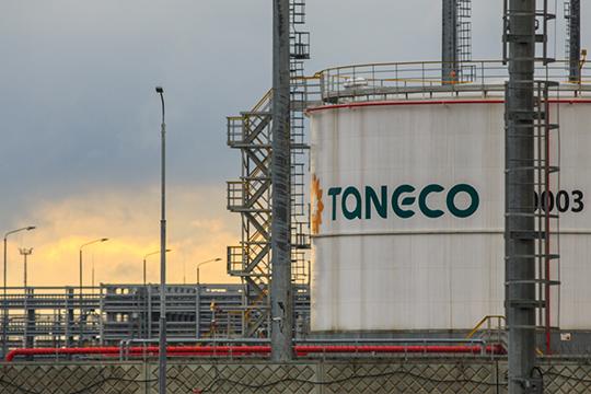 Мощности завода составят до200тыс. тонн— именно столько базовых масел, которые можно пустить надальнейшую переработку, сейчас выпускает «ТАНЕКО»