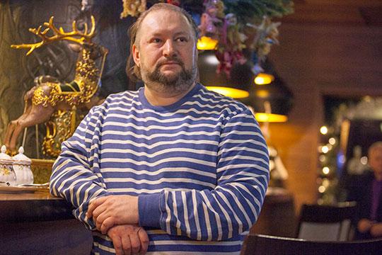 Константин Рыжайкинизвестен как популяризатор татарской национальной кухни