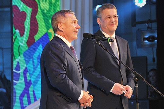 Рустам Миннихановпрямо призвал миллион татар Башкортостана голосовать за Радия Хабирова наосенних выборах главыБашкортостана