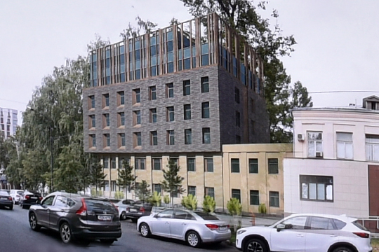 Напроект 7-этажного здания, который представилиучастникам обхода, было поставлено табу повысотности